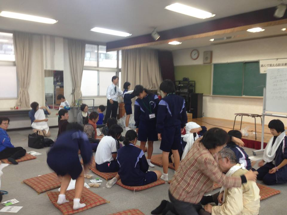 愛知県の防災用品専門店『あんしん堂本舗」の大嶋健秀さんと