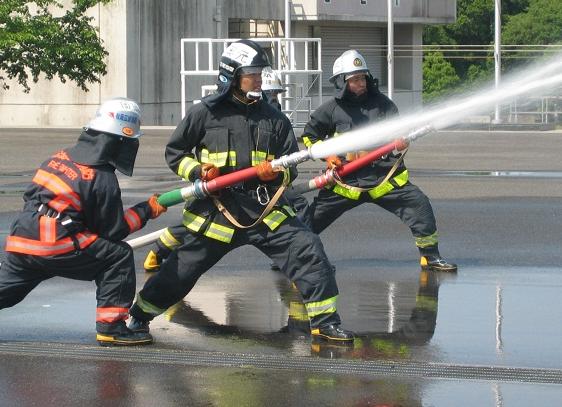 消防学校訓練