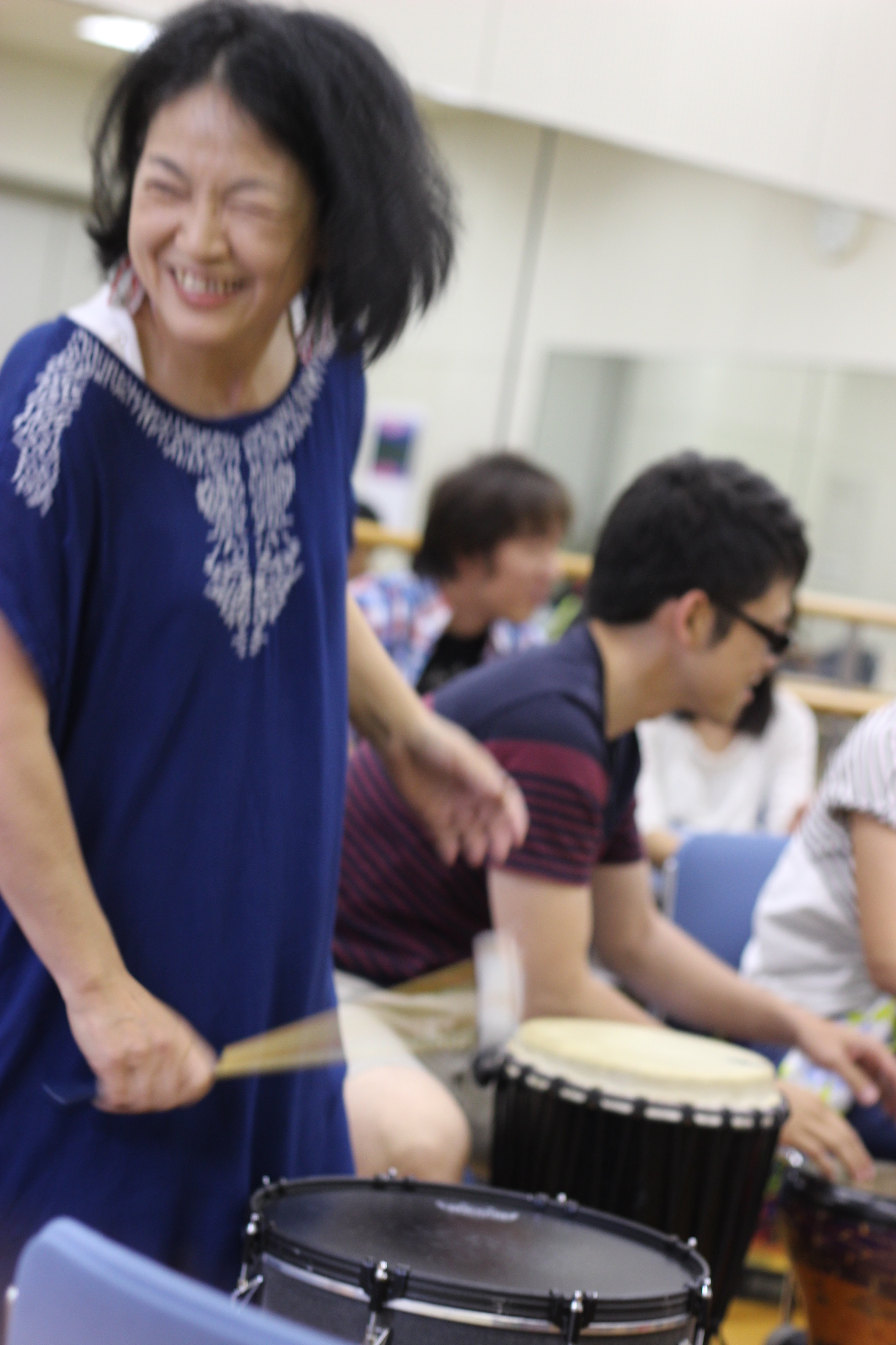 HAPPY BEAT!ドラムサークルのイベントに参加してきました。