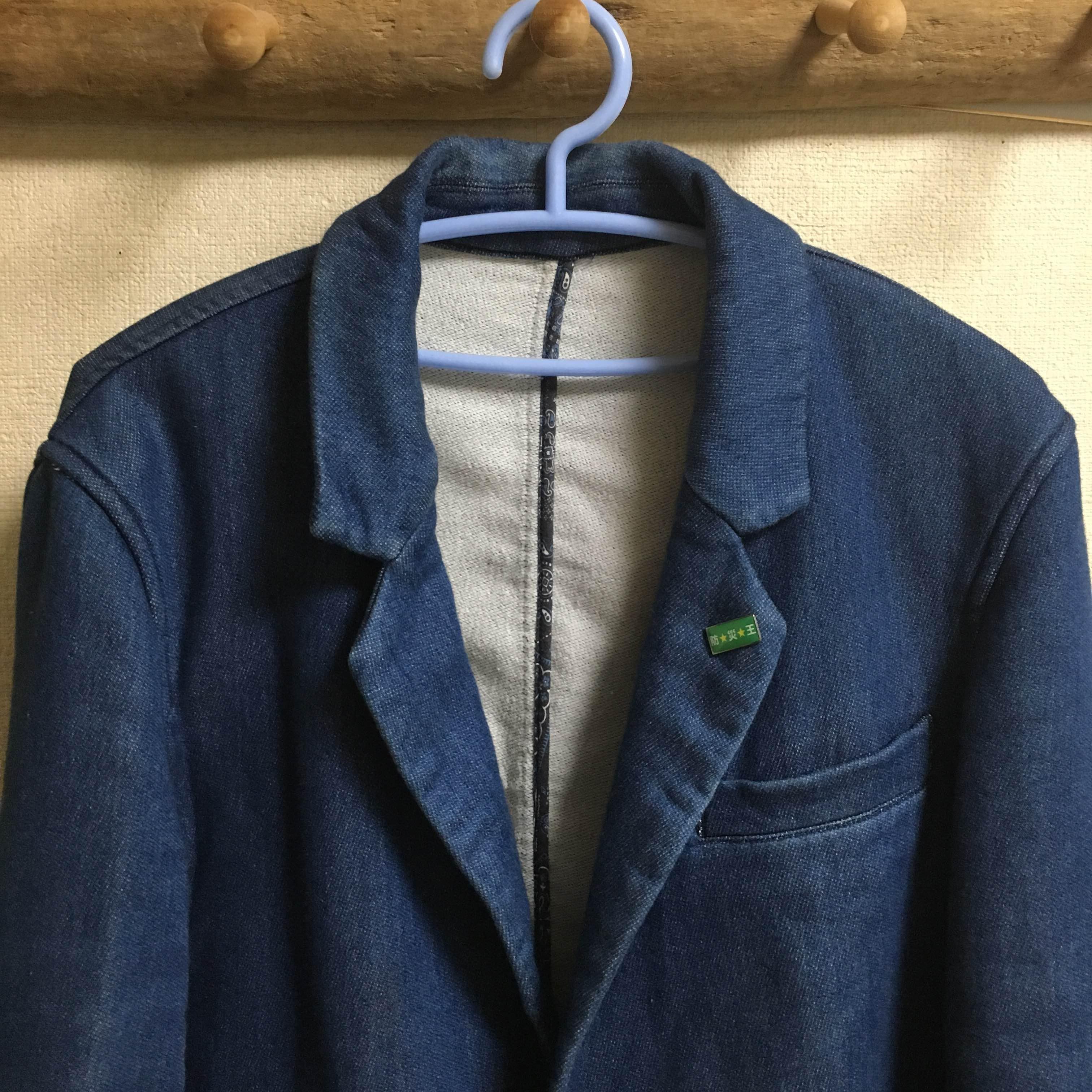 シップスのデニムスウェットジャケットフランス人は10着しか服を持たないらしいので、10着選んでみた。2016チャックシャツ アバクロ年秋冬版【ミニマリスト】