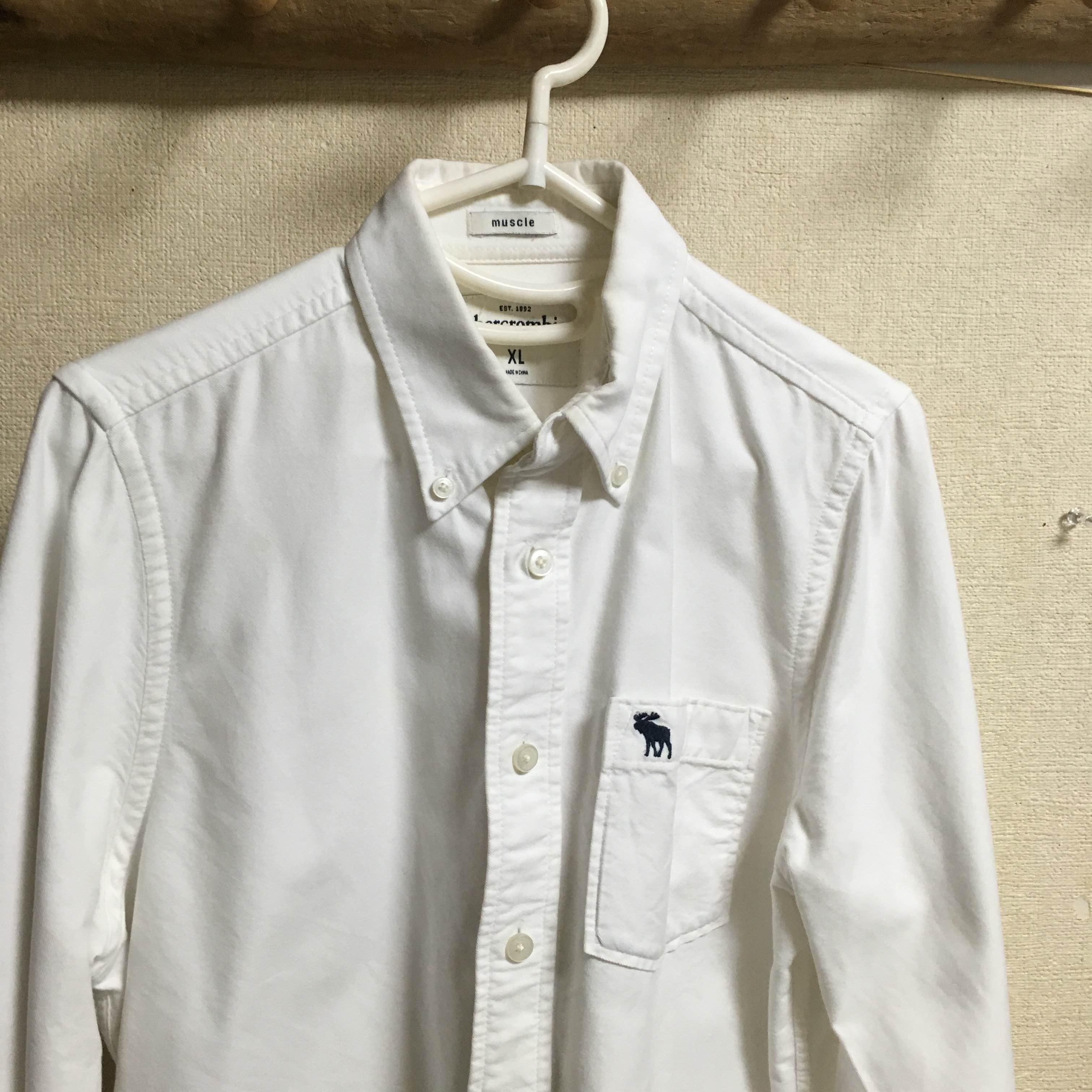 アバクロ白シャツフランス人は10着しか服を持たないらしいので、10着選んでみた。2016年秋冬版【ミニマリスト】
