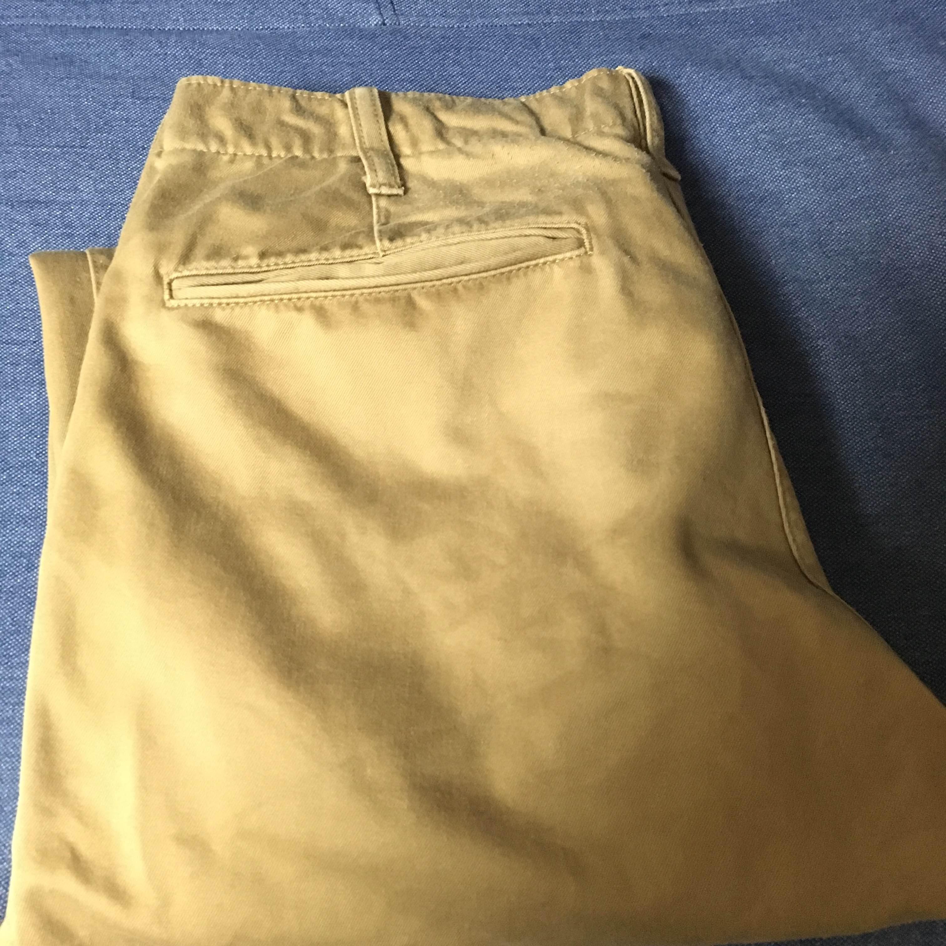 ユニクロのビンテージチノパンフランス人は10着しか服を持たないらしいので、10着選んでみた。2016チャックシャツ アバクロ年秋冬版【ミニマリスト】